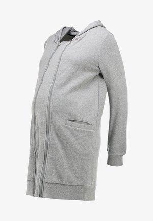 MLFIK TIKKA  - Mikina na zip - light grey melange