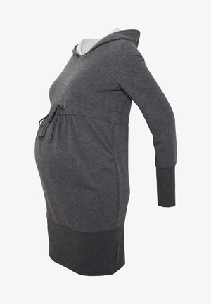 NEW KARLA LONG - Hættetrøjer - medium grey melange