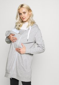 MAMALICIOUS - MLFIKKA - Collegetakki - light grey melange - 3