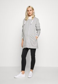 MAMALICIOUS - MLFIKKA - Collegetakki - light grey melange - 1