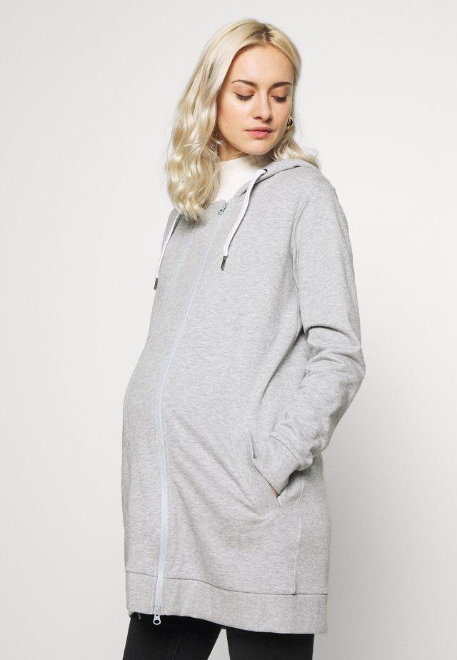 MLFIKKA - Mikina na zip - light grey melange