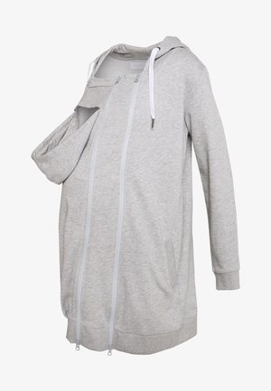 MLFIKKA - veste en sweat zippée - light grey melange