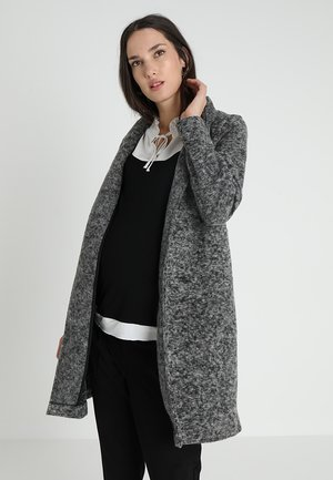 MLFILIPPA COATIGAN - Abrigo corto - medium grey melange