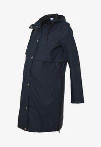 MAMALICIOUS - MLJOELLE ZIPPY SIDE RAINCOAT - Impermeable - navy blazer - 4