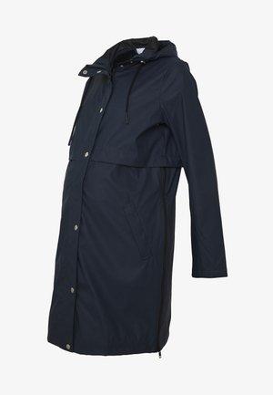 MLJOELLE ZIPPY SIDE RAINCOAT - Regnjakke / vandafvisende jakker - navy blazer