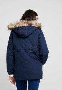 MAMALICIOUS - MLJESS JACKET - Parka - navy blazer/nature - 2