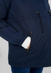 MAMALICIOUS - MLJESS JACKET - Parka - navy blazer/nature - 5