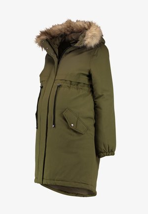 MLJESSIE NEW COAT - Parkatakki - olive night/nature