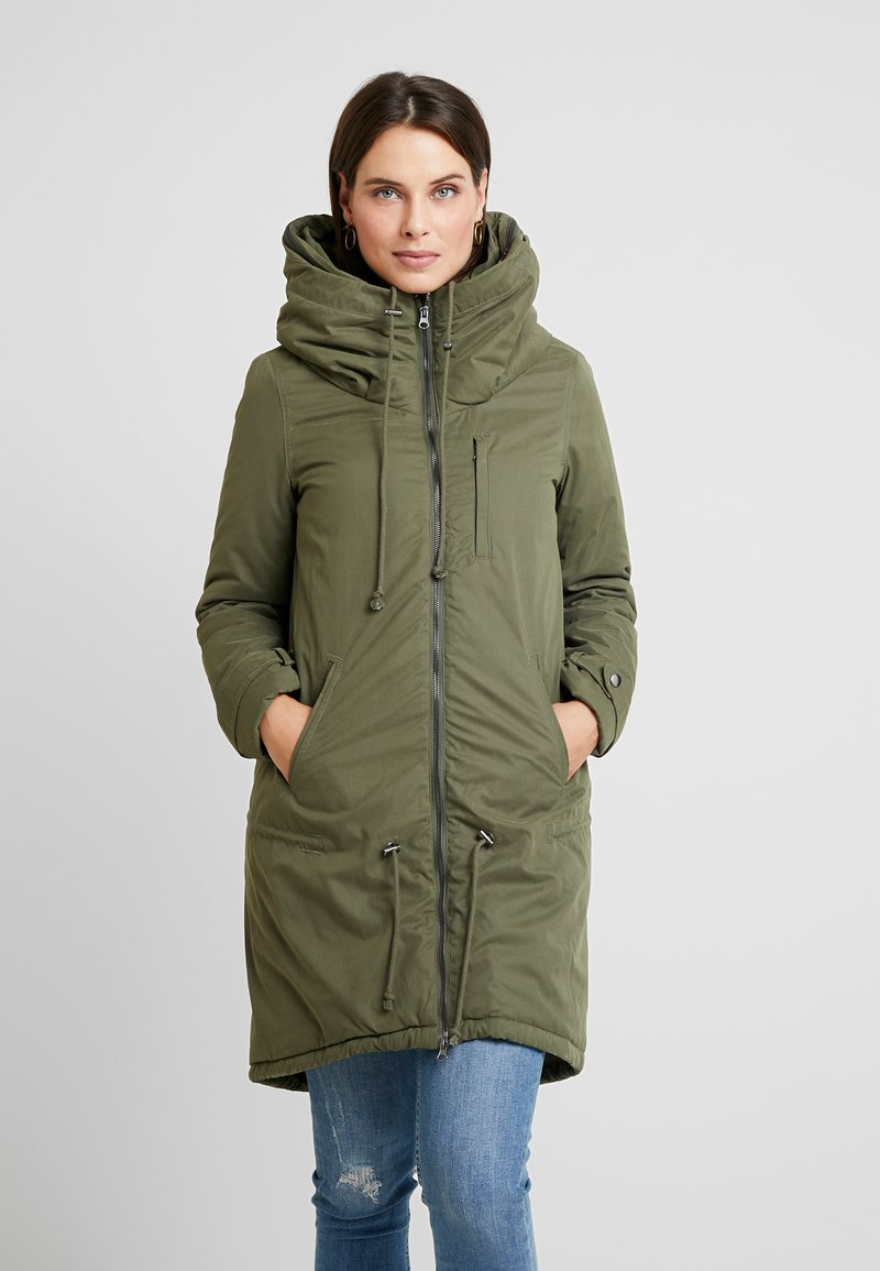 MAMALICIOUS - TIKKA CARRY ME PADDED JACKET - Winter coat - olive night