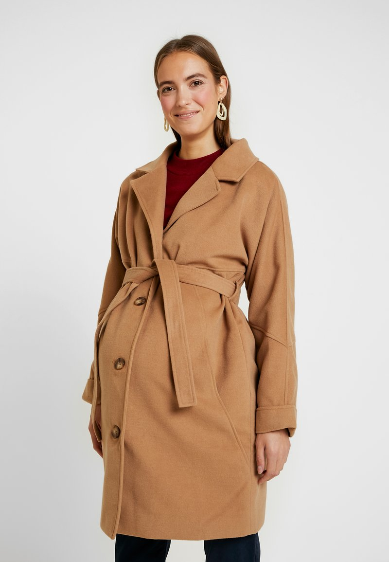 MAMALICIOUS - MLHILLY COAT - Kåpe / frakk - tobacco brown