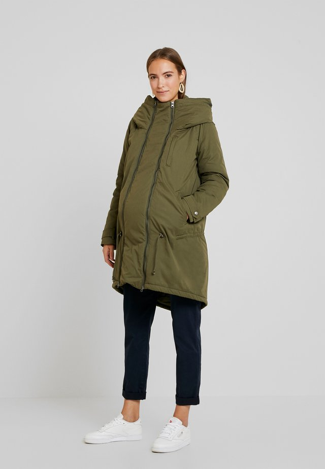 NEW TIKKA PADDED JACKET - Parkatakki - olive night