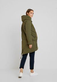MAMALICIOUS - NEW TIKKA PADDED JACKET - Parka - olive night - 2