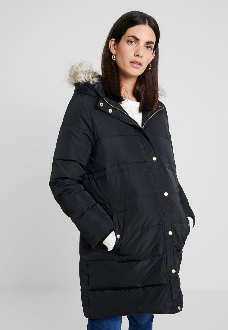 MAMALICIOUS - MLASTA COAT - Down coat - black