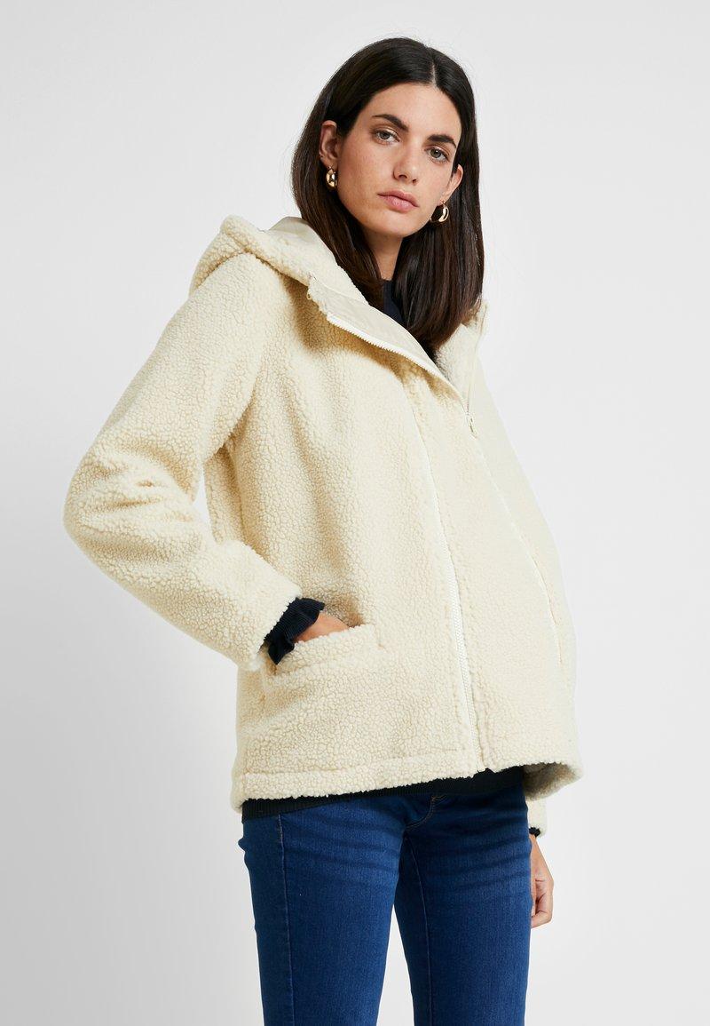 MAMALICIOUS - MLSMILLASTOCK JACKET - Winter jacket - snow white