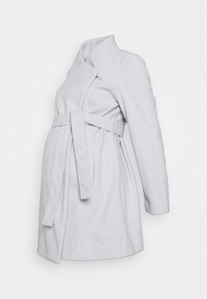 MLNEWROXY COAT - Zimní kabát - light grey melange/ultra light grey