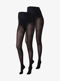 MAMALICIOUS - MLSABINE 2 PACK - Tights - black - 0