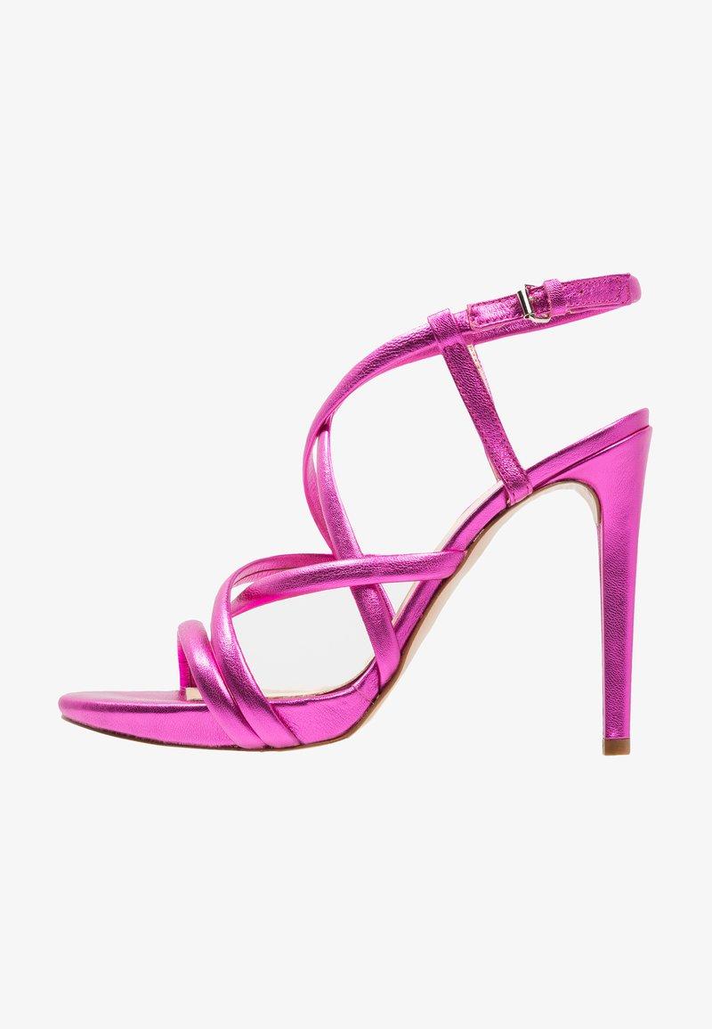 MAI PIÙ SENZA - Sandaler med høye hæler - pink