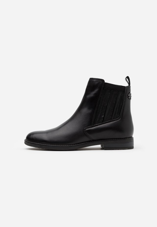 Korte laarzen - black antic