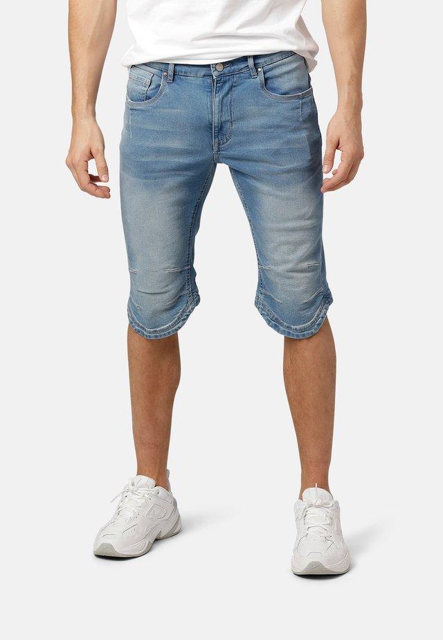 JAX KNICKERS - Denim shorts - light blue