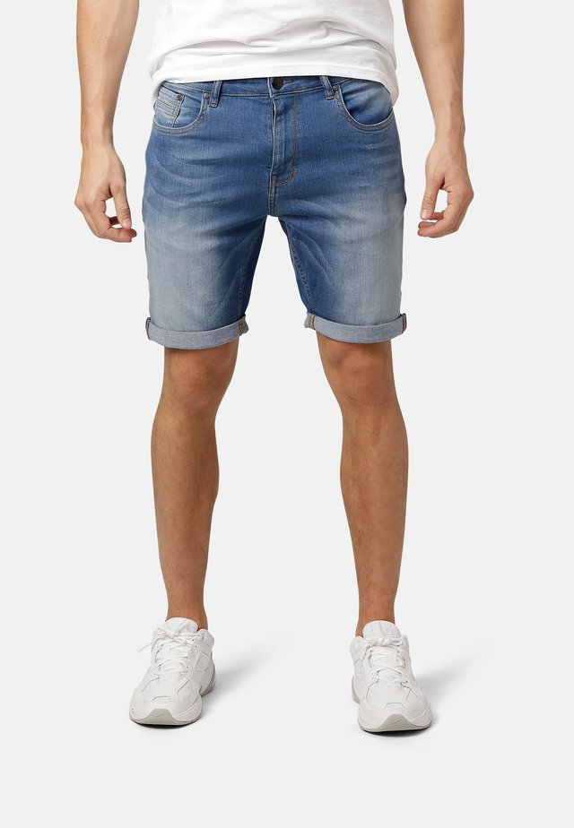 SYLVESTER - Denim shorts - denim blue wash