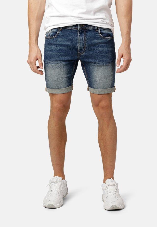FELIX  - Denim shorts - soft blue wash