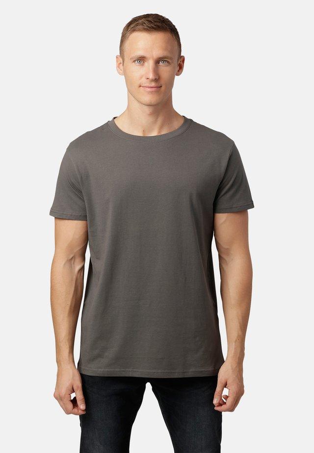 LEXUS - Basic T-shirt - med.grey