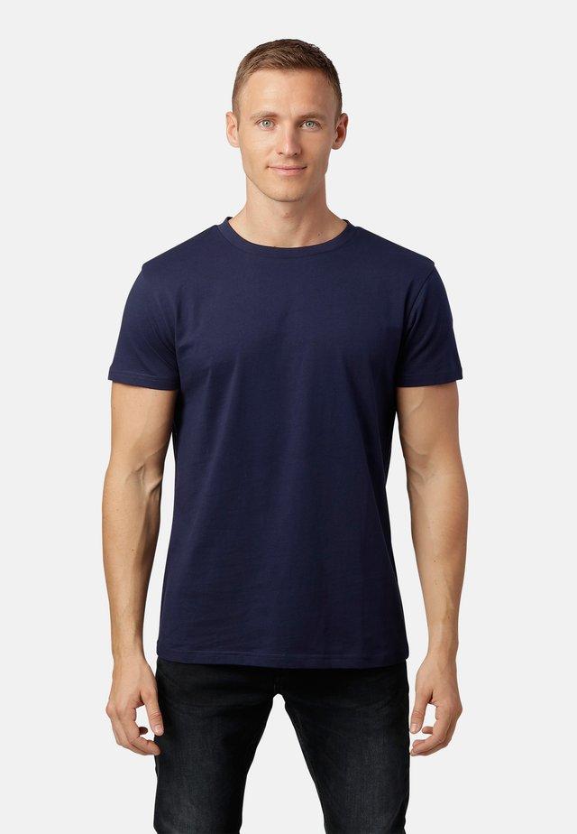 LEXUS - Basic T-shirt - dk.navy