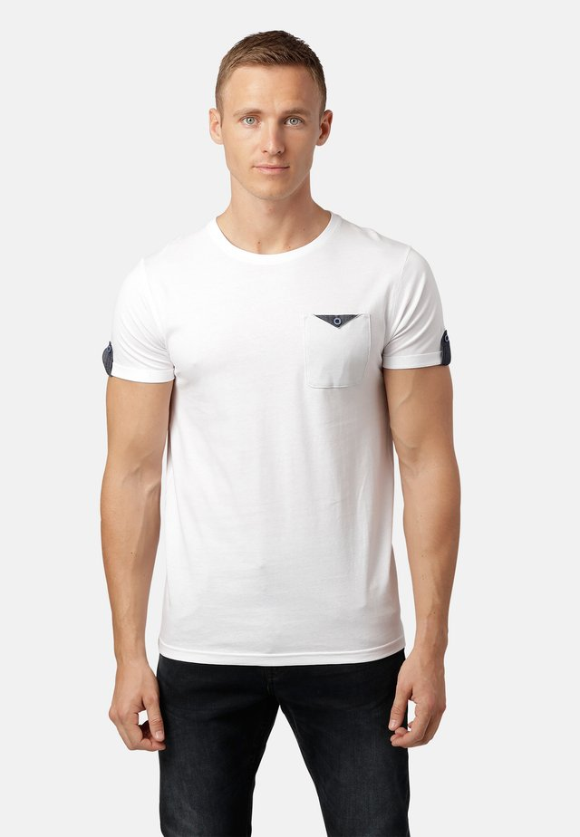 LISTO  - Print T-shirt - white