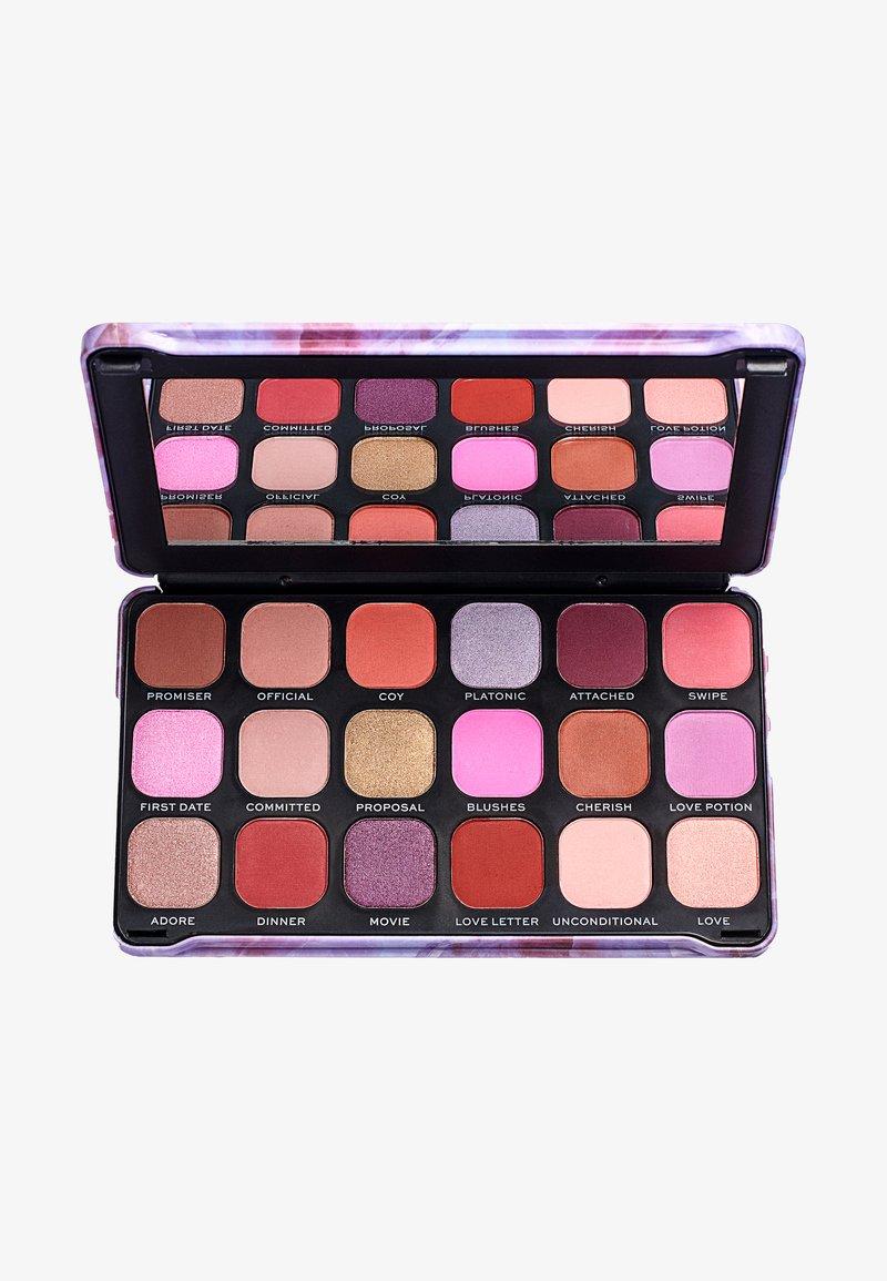 Make up Revolution - EYESHADOW PALETTE FOREVER FLAWLESS UNCONDITIONAL LOVE - Eyeshadow palette - multi