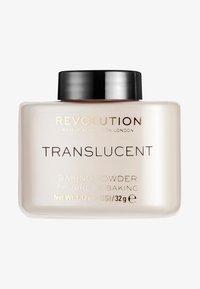 Make up Revolution - LOOSE BAKING POWDER - Fixierspray und Fixierpuder - translucent - 0