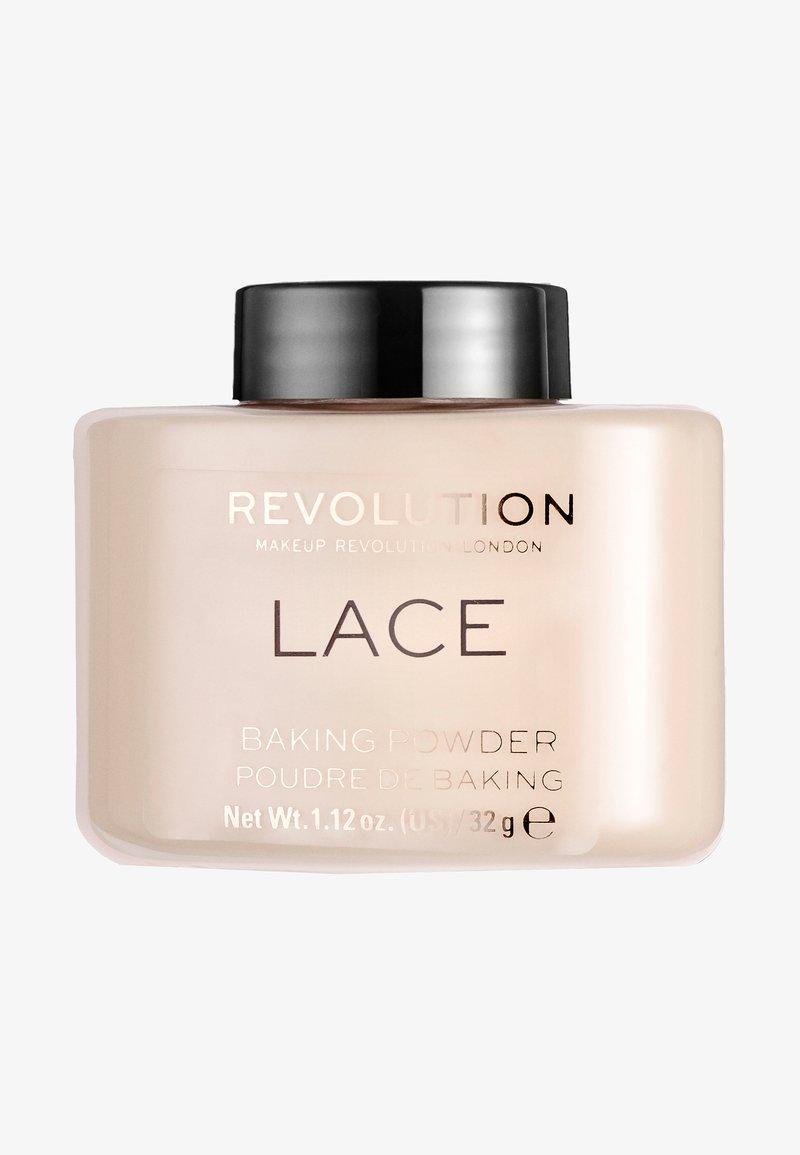 Make up Revolution - LACE LUXURY BAKING POWDER - Setting spray & powder - nude