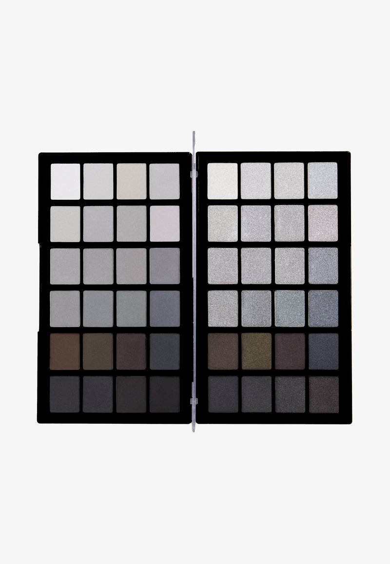 Make up Revolution - COLOUR BOOK EYESHADOW PALETTE - Eyeshadow palette - blacks