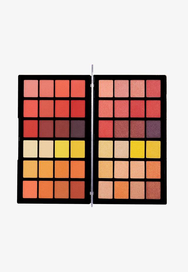 COLOUR BOOK EYESHADOW PALETTE - Palette fard à paupière - oranges