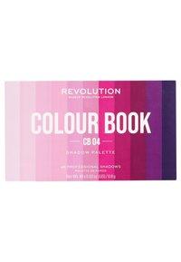 Make up Revolution - COLOUR BOOK EYESHADOW PALETTE - Eyeshadow palette - purples - 1