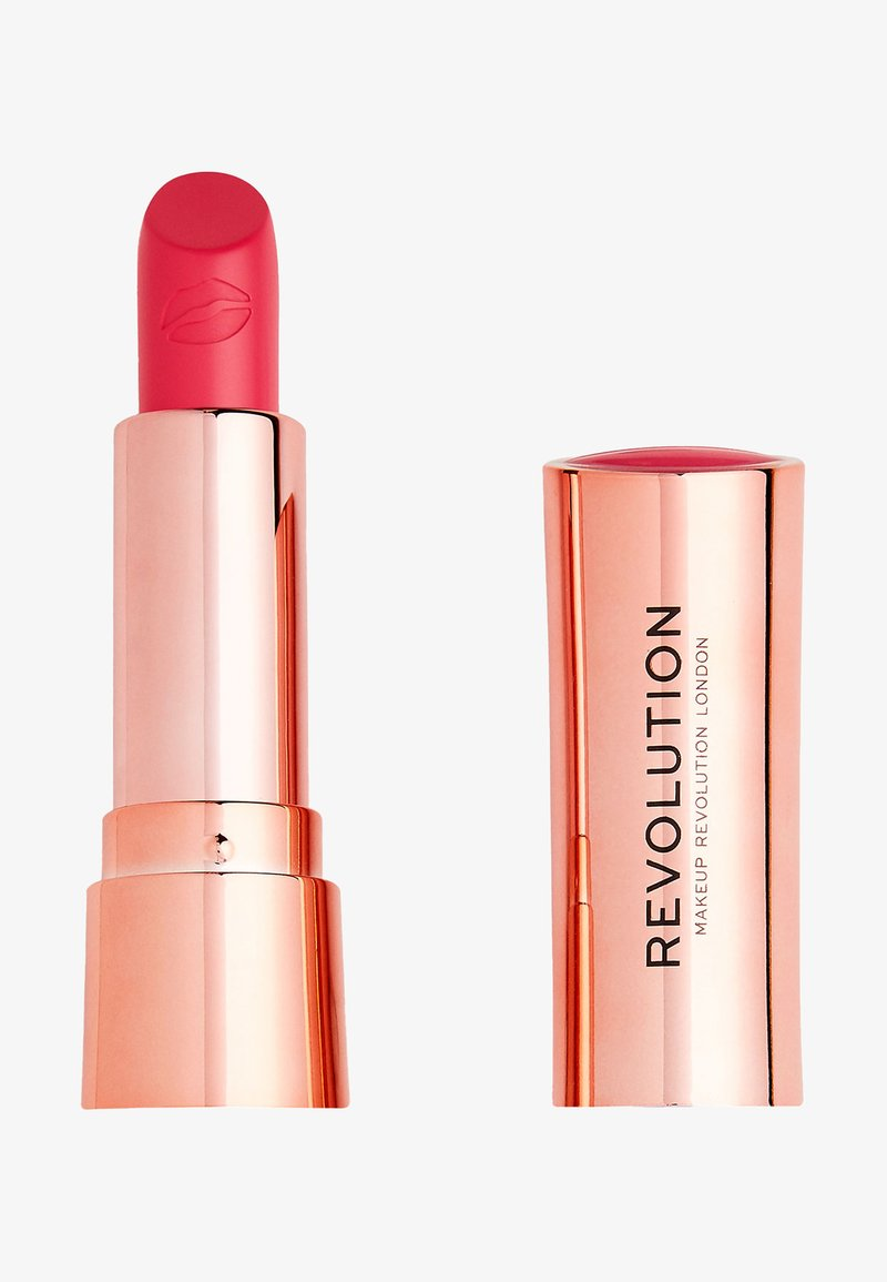 Make up Revolution - SATIN KISS LIPSTICK - Lipstick - cutie
