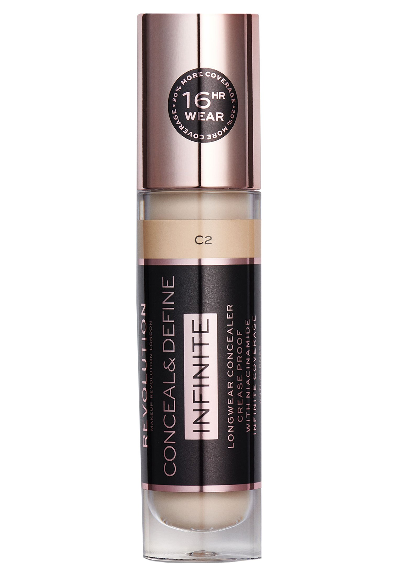 Make up Revolution INFINITE XL CONCEALER - Correttore - c2 FLkxJy4O