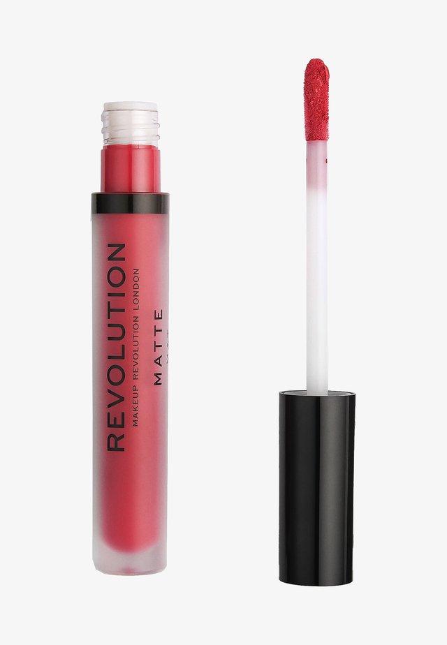 MATTE LIP - Rouge à lèvres liquide - rouge