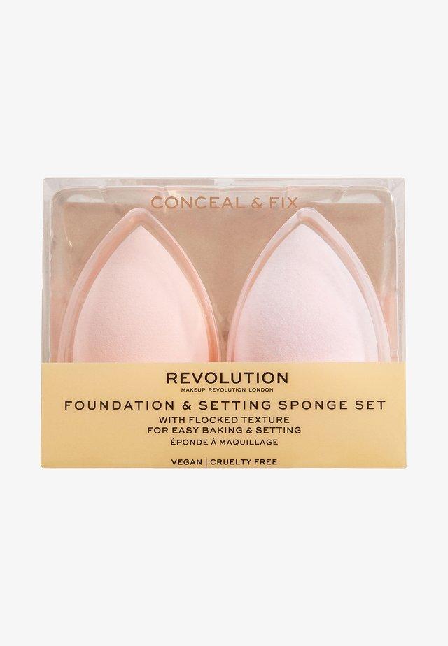 CONCEAL & FIX SETTING SPONGES - Beautyblender et éponge à maquillage - -