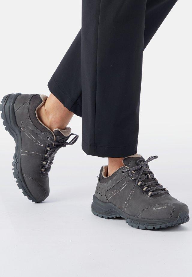 NOVA - Hiking shoes - graphite/taupe