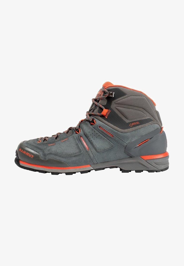 Mammut - ALNASCA PRO MID GTX® MEN - Hiking shoes - graphite/zion