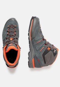 Mammut - ALNASCA PRO MID GTX® MEN - Obuwie hikingowe - graphite/zion - 1