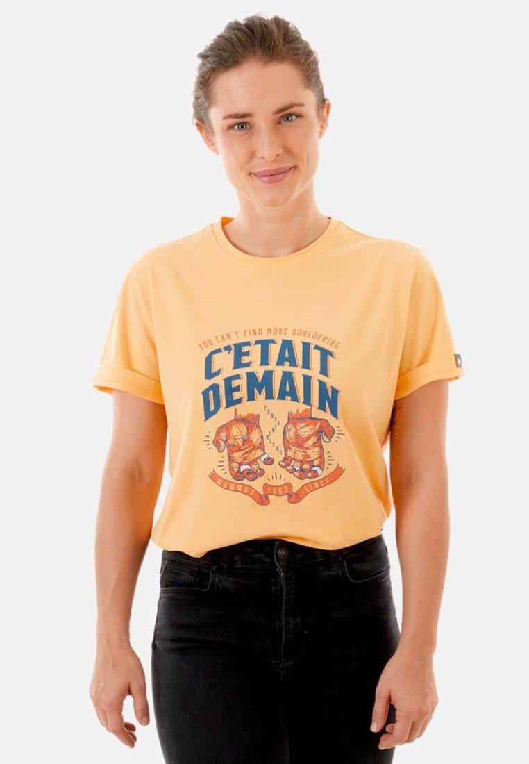 Mammut - T-Shirt print - flax