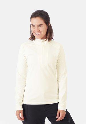 Fleece trui - bright white