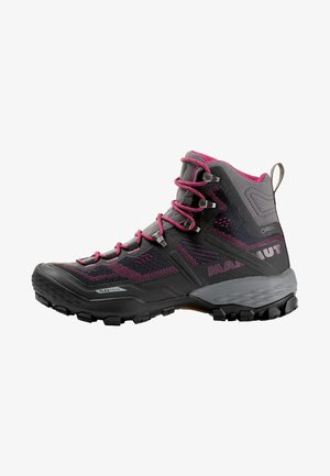 DUCAN HIGH GTX WOMEN - Obuwie hikingowe - gray