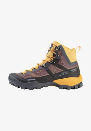DUCAN HIGH GTX - Alpin-/Bergstiefel - dark titanium-light golden