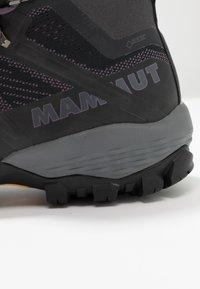 Mammut - DUCAN MID GTX WOMEN - Obuwie hikingowe - phantom - 5