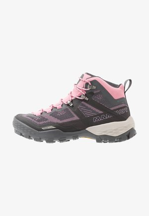 DUCAN MID GTX WOMEN - Hiking shoes - dark titanium/dark orchid