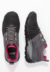 Mammut - SAENTIS  - Hiking shoes - black/titanium - 1