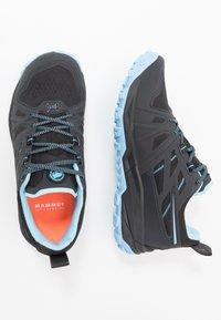 Mammut - SAENTIS LOW WOMEN - Trail running shoes - black/whisper - 1