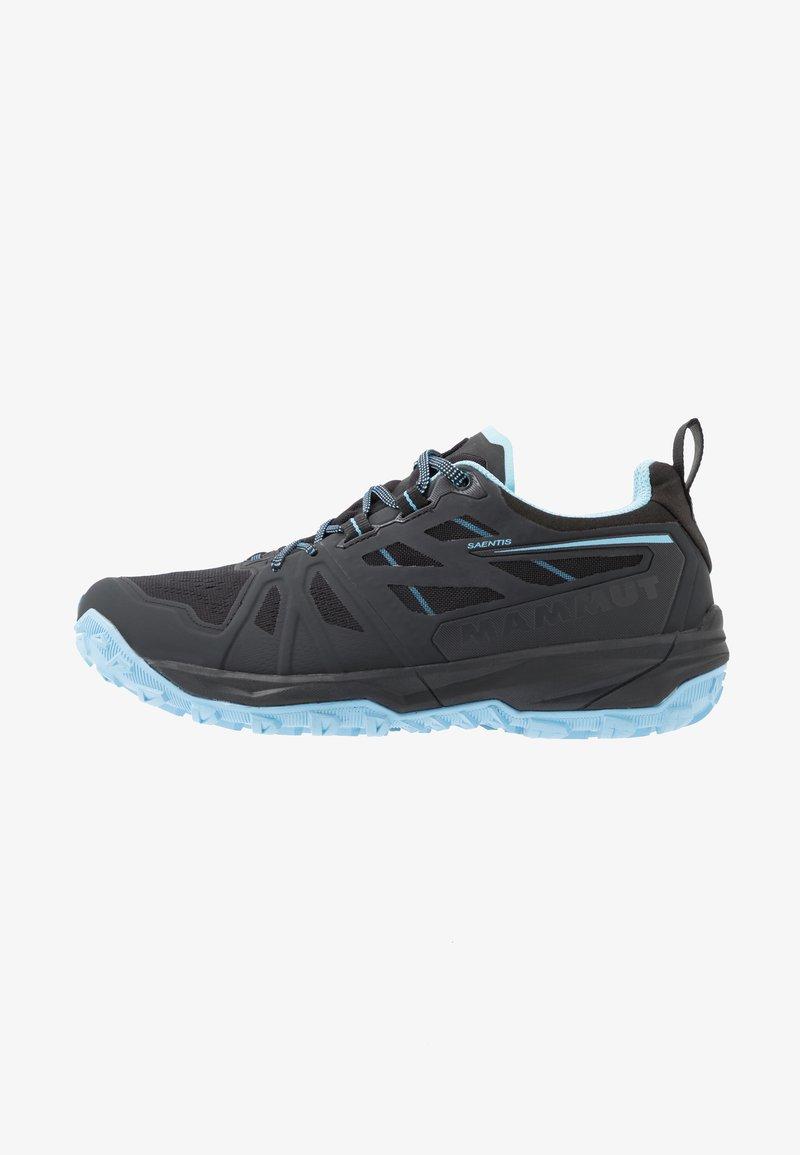 Mammut - SAENTIS LOW WOMEN - Trail running shoes - black/whisper
